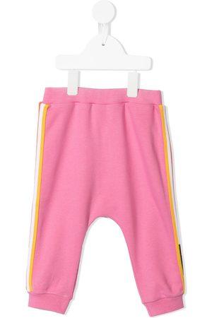 Fendi Joggers - Stripe-detail track pants