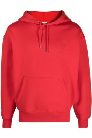 Ami Embroidered logo hoodie