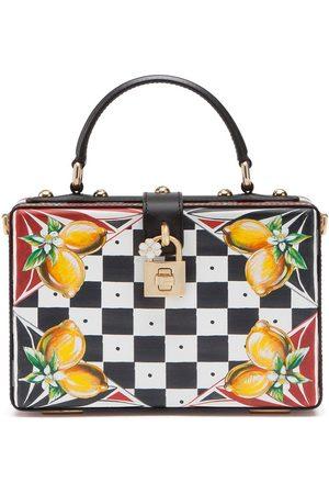 Dolce & Gabbana Women Tote Bags - Dolce Box checkboard-print tote bag
