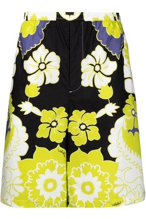 Valentino Arazzo-print bermuda shorts