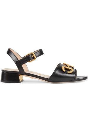 Gucci Women Sandals - Horsebit strap buckle-fastening sandals