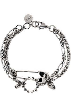 Alexander McQueen Men Bracelets - Charm chain bracelet