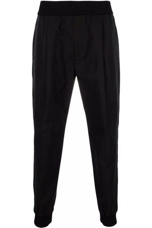 Alexander McQueen Tapered elasticated trousers