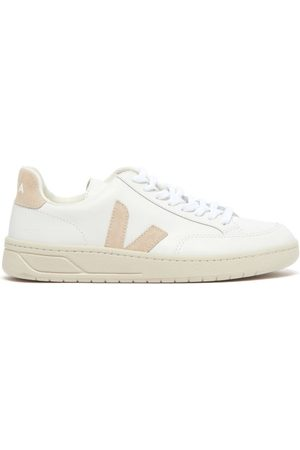 Veja V-12 Leather Trainers - Womens