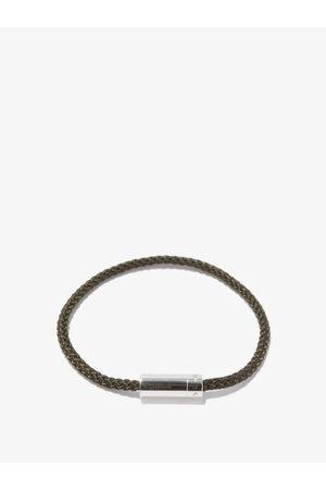 Le Gramme 5g Cable & Sterling-silver Bracelet - Mens - Khaki