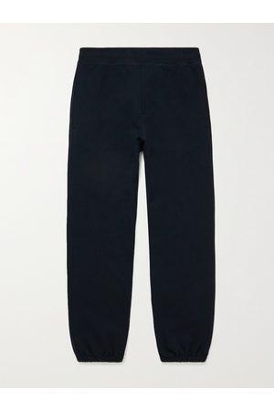The Row Men Joggers - Olin Loopback Cotton-Jersey Sweatpants