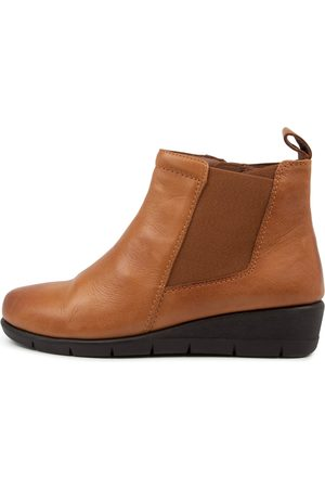 SUPERSOFT Women Ankle Boots - Massie Su New Tan Boots Womens Shoes Casual Ankle Boots