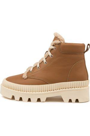 Mollini Women Casual Shoes - Peato Mo Dk Tan Sole Sneakers Womens Shoes Casual Casual Sneakers
