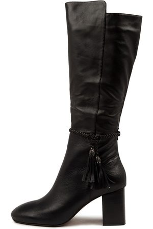 Mollini Women Knee High Boots - Spesh Mo Heel Boots Womens Shoes Casual Long Boots