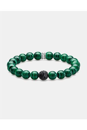 "Thomas Sabo Men Bracelets - Bracelet ""Black Cat "" - Jewellery Bracelet ""Black Cat """