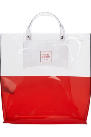 Opening Ceremony Men Tote Bags - Transparent & Large Colorblock Shopping Tote