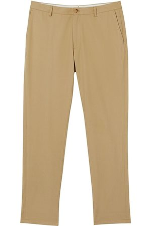 Burberry Men Chinos - Slim-fit cotton chinos