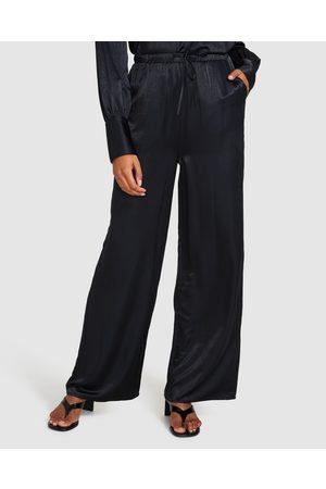 Alice In The Eve Women Pyjamas - Rochelle Silky Pyjama Pants Smokey