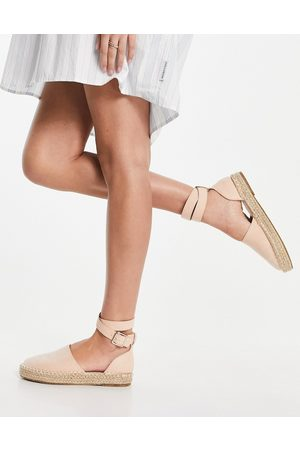 Truffle Collection Two part espadrille sandals in beige-Neutral