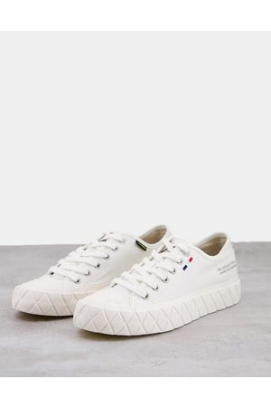 Palladium Palla Ace low top sneakers in star white