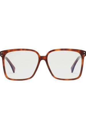 Gucci Men Sunglasses - Rectangular-frame sunglasses