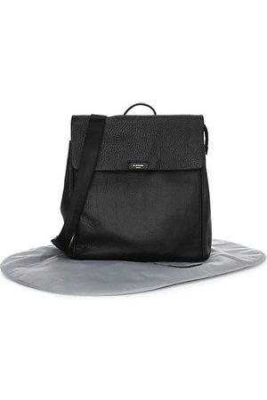 storksak Backpacks - St. James Leather Diaper Bag Backpack