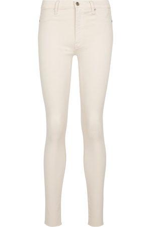 7 for all Mankind Women Skinny - Skinny Crop Slim Illusion jeans