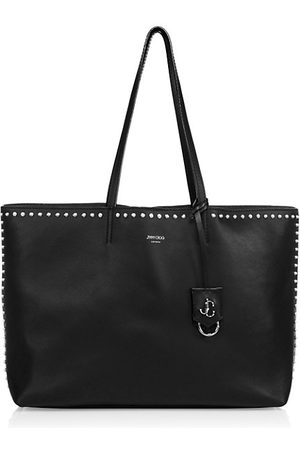 Jimmy Choo Tote Bags - Large Nine2Five Studded Leather Tote