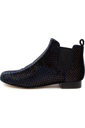 I LOVE BILLY Women Ankle Boots - Endale Il Navy Dapple Boots Womens Shoes Casual Ankle Boots