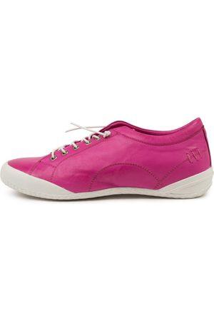 SUPERSOFT Women Casual Shoes - Royce Su Fuchsia Sole Sneakers Womens Shoes Casual Casual Sneakers