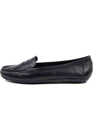 Django & Juliette Women Casual Shoes - Barrie Djl Navy Shoes Womens Shoes Casual Flat Shoes