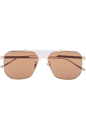 Bottega Veneta Women Sunglasses - Geometric aviator-frame sunglasses