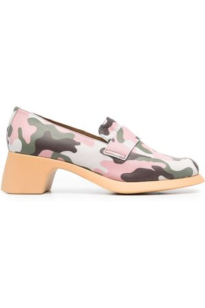 Camper X Ssense camouflage shoes