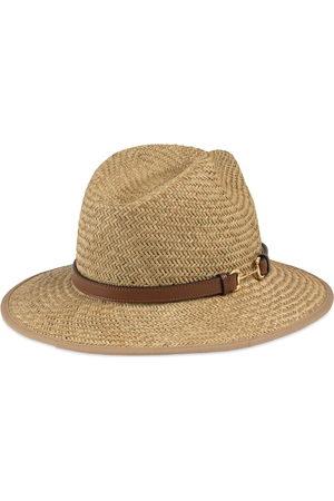 Gucci Men Hats - Straw hat with Horsebit