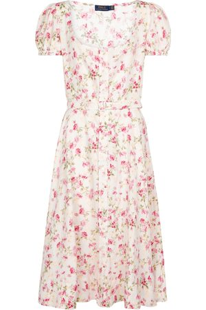Polo Ralph Lauren Women Maxi Dresses - Floral linen midi dress
