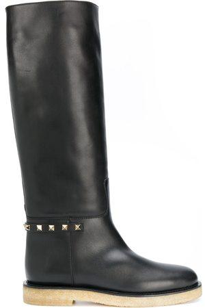VALENTINO GARAVANI Rockstud knee-high boots