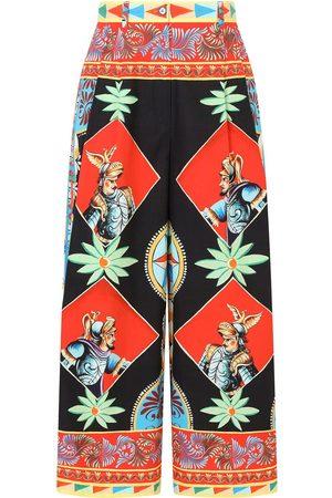 Dolce & Gabbana Multi-panel palazzo pants