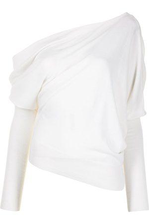 Altuzarra Granger asymmetric knitted top