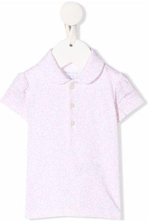 Ralph Lauren Kids Floral-print polo shirt