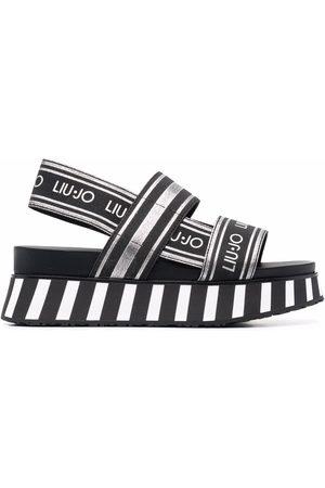 LIU JO Frida 2 logo-strap sandals