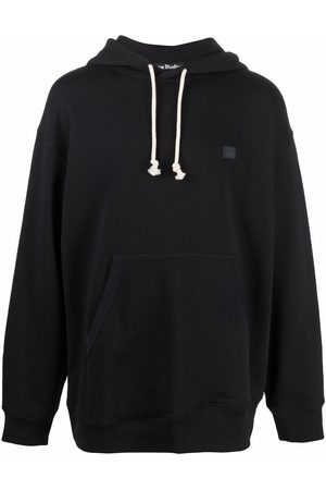 Acne Studios Face patch oversized hoodie