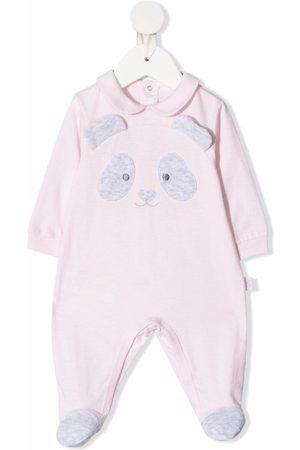 Il gufo Panda patch cotton pyjamas