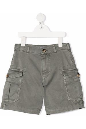 Brunello Cucinelli Multiple-pocket cargo shorts