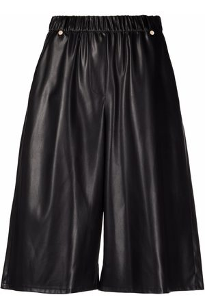 Patrizia Pepe Faux leather culottes