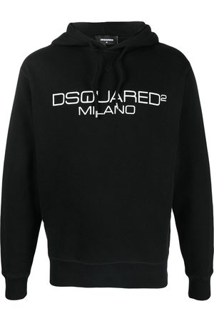Dsquared2 Men Hoodies - Embroidered logo hoodie