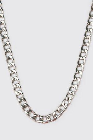 Boohoo Mens Short Length Plain Chain Necklace