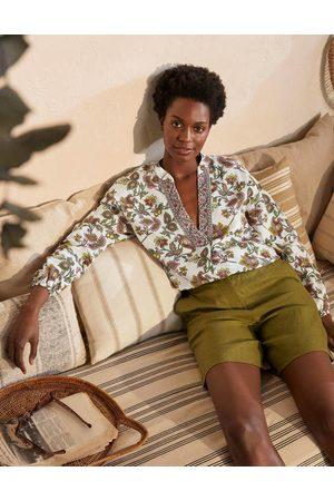 Boden Women Jackets - Hannah Linen Shirt Women
