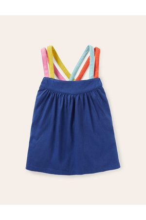 Boden Mini Girls Short Sleeve - Rainbow Strap Vest Girls Boden