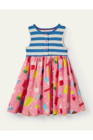 Boden Mini Girls Casual Dresses - Hotchpotch Jersey Dress Girls Boden