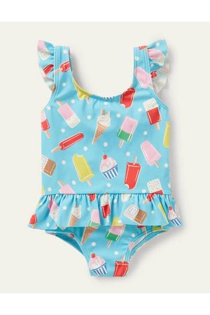 Cubus Fun Frill Sleeve Swimsuit Boden