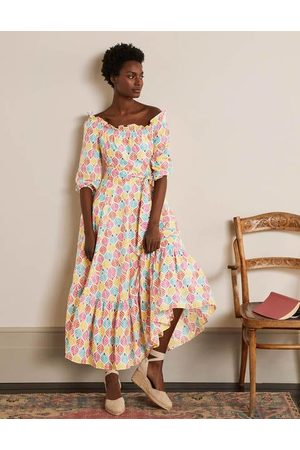 Boden Rosalind Tiered Midi Dress Women