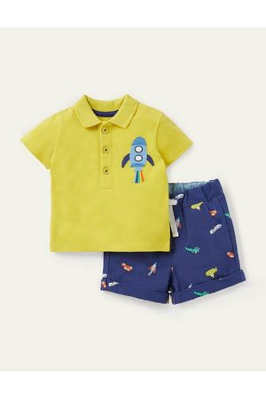 Cubus Baby Sets - Piqué Polo Short Set Boden