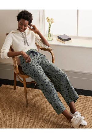 Boden Thelma Cropped Jersey Joggers Women