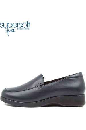 SUPERSOFT Women Loafers - Nature2 Su Navy Shoes Womens Shoes Comfort Flat Shoes