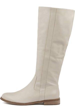 Django & Juliette Women Knee High Boots - Yarari Stone Boots Womens Shoes Casual Long Boots